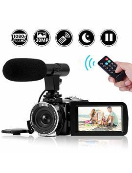 Camcorder Video Camera Full Hd 1080 P Night Vision Camcorder Vlogging Camera Blogging Camera 16x Digital Camera Vlog Video Camera For You Tube Videos by Seree