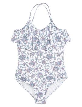Pop Palace Ruffle One Piece Swimsuit by Seafolly
