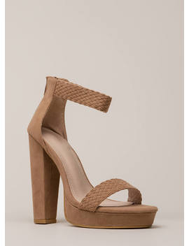 Get Good Braids Chunky Woven Platforms by Go Jane