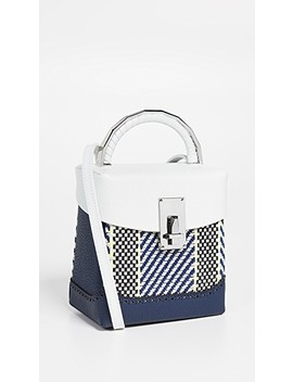 Rattan Box Bag by The Volon