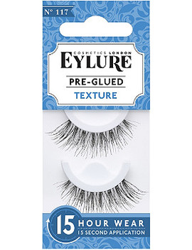 Pre Glued Texture No. 117 Lashes by Eylure