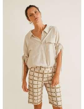 Adjustable Sleeves Shirt by Mango