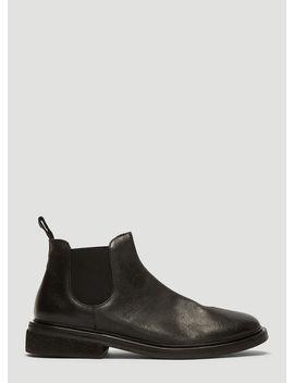 Pomicione Beatle Boots In Black by Marsèll