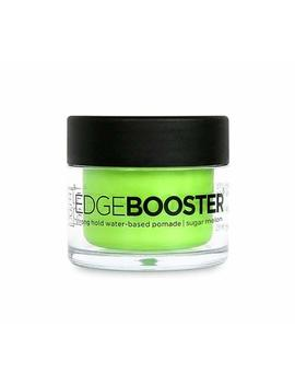 Style Factor Mini Edge Booster Strong Hold Hair Pomade Color Travel 0.85oz (Sugar Melon) by Style Factor