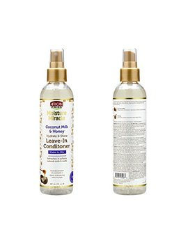 African Pride Moisture Miracle Coconut Milk And Honey Hydrate & Shine Leave  In Conditioner by African Pride