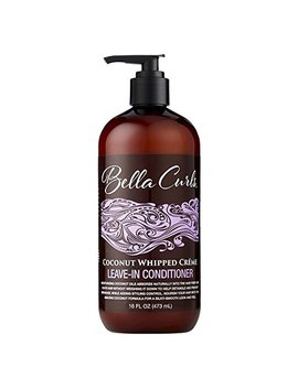 Bella Curls Coconut Whipped Creme Leave In Conditioner 16 Fl Oz by Bella Curls
