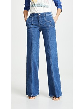Wide Leg Jeans by Stella Mc Cartney