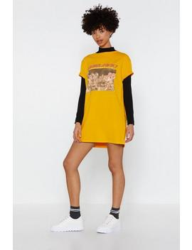 Oakland Graphic Tee Dress by Nasty Gal
