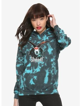 Slipknot Goat Acid Wash Girls Hoodie by Hot Topic