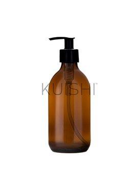Kuishi   Dispenser Per Sapone   Vetro Ambrato, Vetro, Amber, 300 Ml by Kuishi