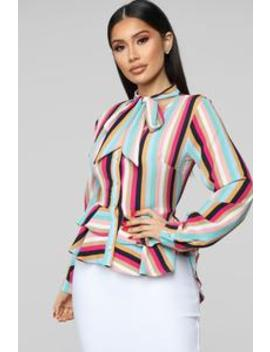 Kaia Top   Multi Color by Fashion Nova