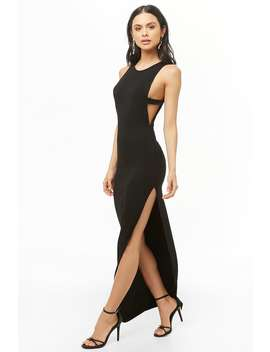 sleeveless-cutout-maxi-dress by forever-21