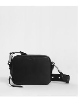 Clip Leather Bumbag Crossbody Bag by Allsaints
