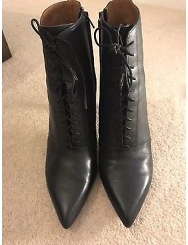 & Other Stories Lace Up Black Boots. Size 41 (Uk 8) by Ebay Seller