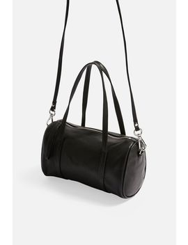 Mini Leather Bowler Bag by Topshop
