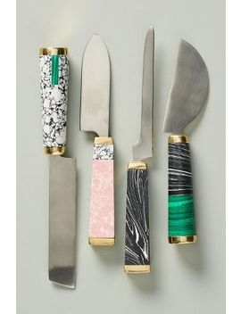 Set Of Four Hadley Cheese Knives by Anthropologie