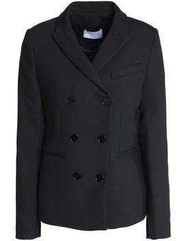 Double Breasted Twill Blazer by Sandro