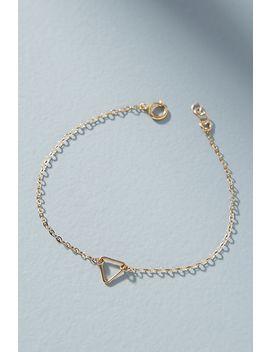 tiny-triangle-bracelet by hello-adorn