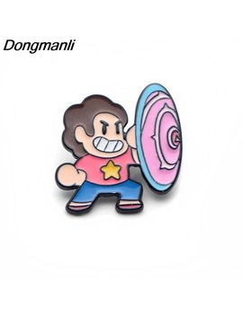 P3069 Dongmanli Steven Universe Metal Enamel Pins And Brooches For Women Men Lapel Pin Backpack Bags Hat Badge Kids Gifts by Dongmanli