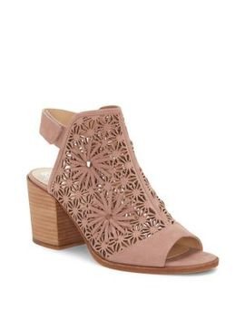 Kalison Leather Heeled Sandals by Vince Camuto