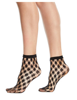 Athina Geo Net Ankle Socks by Wolford