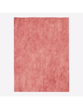 Lucent Rug, Pink Grapefruit, 8'x10' by West Elm