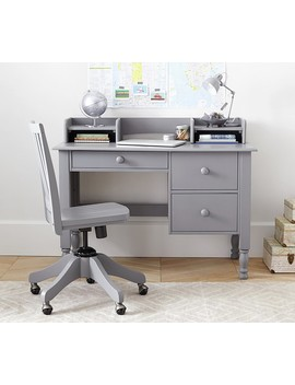 Catalina Storage Desk & Low Hutch by Pottery Barn Kids