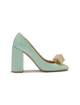 Poppy Square Jewel Pump by Mulberry
