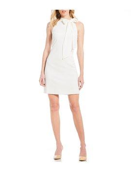 Halter Neck Shift Dress by Vince Camuto