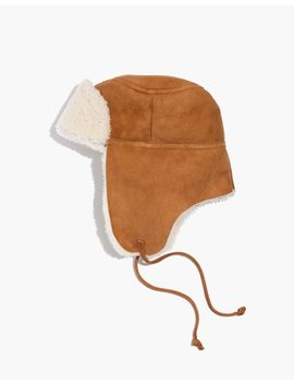 Madewell X Owen Barry™ Shearling Trooper Hat by Madewell
