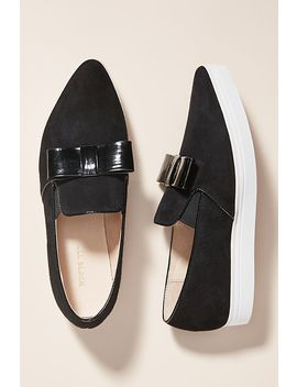 All Black Bow Sport Loafers by All Black