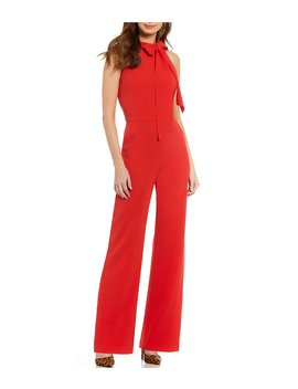 Bow Neck Jumpsuit by Vince Camuto