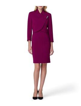 Side Wrap Jacket Dress Suit by Tahari Asl