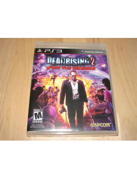 Dead Rising 2 Off The Record For Playstation 3 Ps3 Brand New Factory Sealed by Ebay Seller