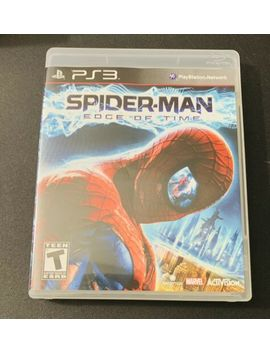 Spider Man: Edge Of Time (Sony Play Station 3, 2011) Free Ship by Ebay Seller