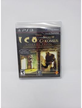 The Ico & Shadow Of The Colossus Collection Play Station 3 Ps3 New(See Photos) by Ebay Seller
