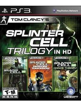 Tom Clancy's Splinter Cell Trilogy Sony Playstation 3 Ps3 Complete Chaos Theory by Ubisoft