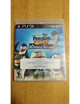 The Penguins Of Madagascar Dr Blowhole Returns Again Sony Play Station 3 2011 Ps3 by Ebay Seller
