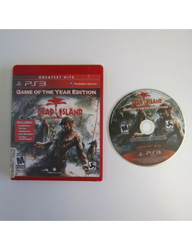 Dead Island Game Of The Year Edition   Very Good Condition (Ps3, 2012) by Ebay Seller