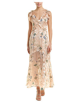 Reiss Almeria Silk Blend Maxi Dress by Reiss