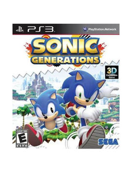 Sonic Generations Game In Original Case Ps3 Play Station 3 by Ebay Seller