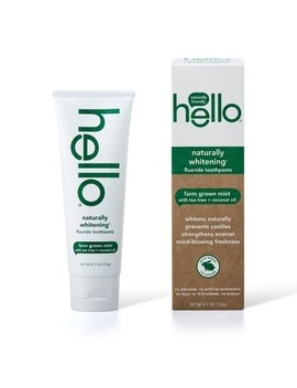Hello Naturally Healthy Whitening Fluoride Toothpaste   4.7oz by Target