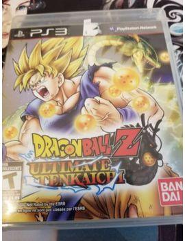 dragon-ball-z:-ultimate-tenkaichi-(sony-playstation-3,-2011) by ebay-seller