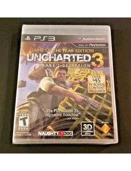 Uncharted 3: Drake's Deception   Game Of The Year Edition   New (Play Station 3) by Sony