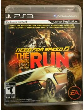 Need For Speed: The Run: Limited Edition   Ps3 by Ebay Seller