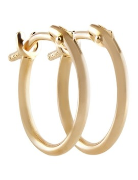 Pori 10k Yellow Gold 2x10mm Circle Hoop Earrings by Pori