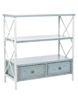 Safavieh American Homes Collection Chandra Pale Blue And White Smoke Console Table by Safavieh