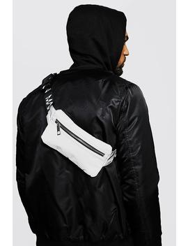 Reflective Mini Man Branded Cross Body Bag by Boohoo