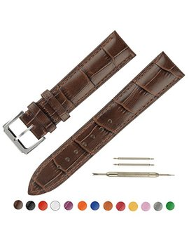 Ownitow Leather Watch Bands   Choice Of Color & Width (16mm,18mm,20mm,22mm Or24mm) Premium Genuine Cowhide Replacement Watch Straps For Men And Women by Ownitow