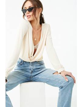 Surplice Crepe Top by Forever 21